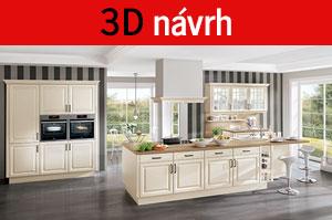 3D návrh kuchyní