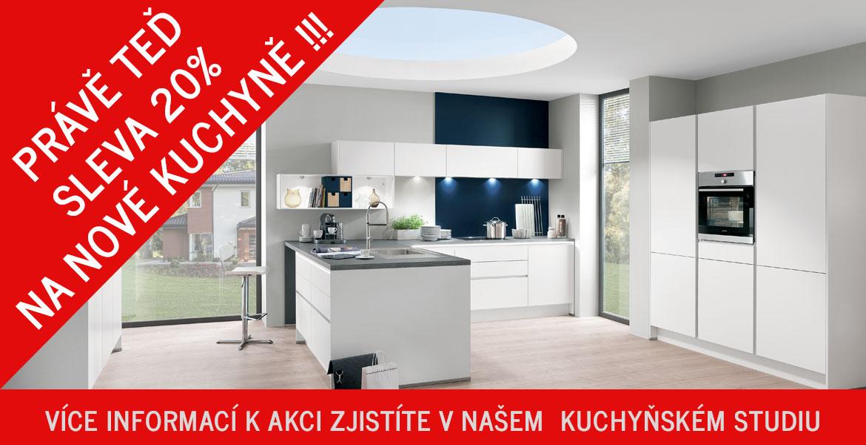 Sleva 20% na nové kuchyně !!!